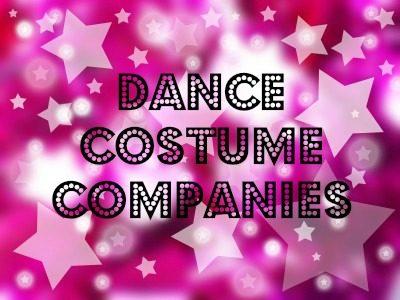 Dance Costume Companies