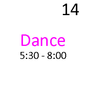 Dance Company:  What is the Commitment During the Week & on Weekends?