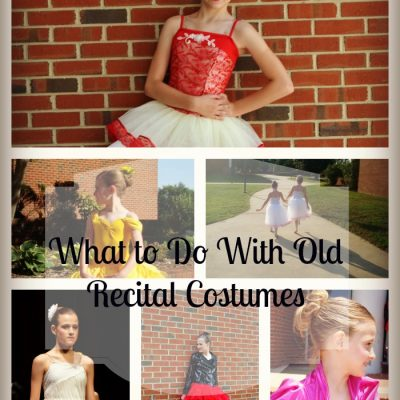 What Do You Do With Your Old Dance Costumes