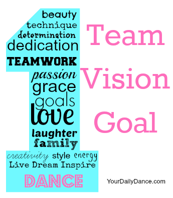 One Team, One Vision, One Goal