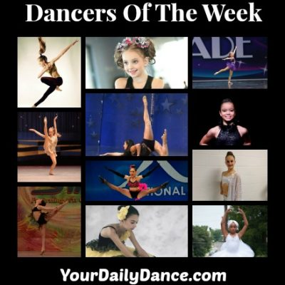 Dancers Of The Week