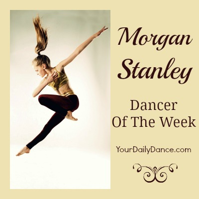Dancer Of The Week:  Morgan Stanley