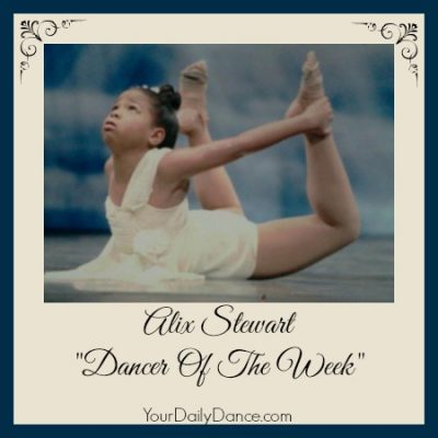 Dancer of the Week:  Alix Stewart