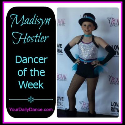 Dancer Of The Week:  Madisyn Hostler