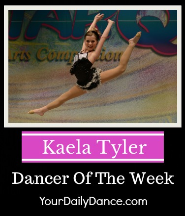 Kaela Tyler Dancer Of THe Week