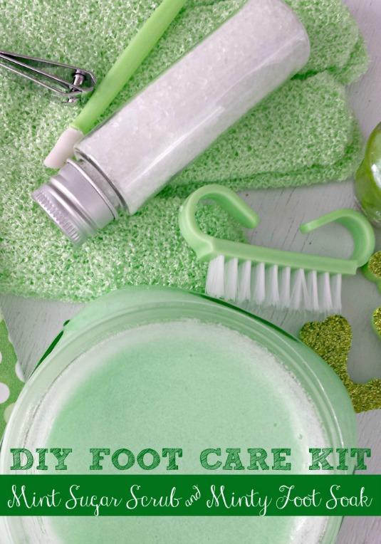 DIY Mint Foot Care Kit 2