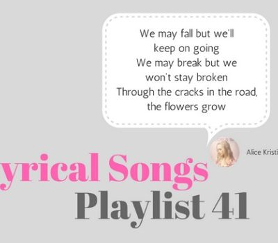 Lyrical Songs:  Playlist 41